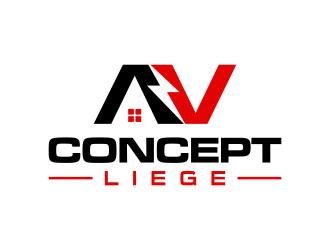 AV CONCEPT LIEGE logo design