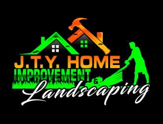 J.T.Y. Home Improvement & Landscaping Logo Design