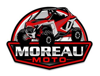 Moreau Moto logo design