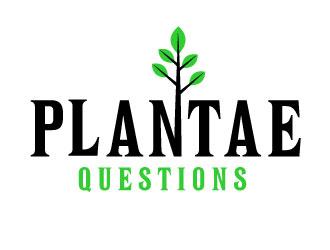 Plantae Questions logo design