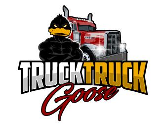 Truck Truck Goose logo design