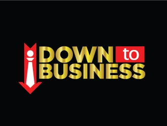 Down To Business logo design