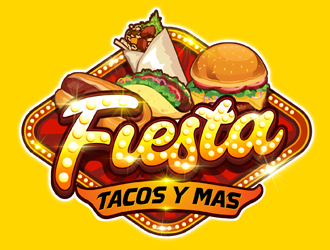 Fiesta Tacos Y Mas logo design