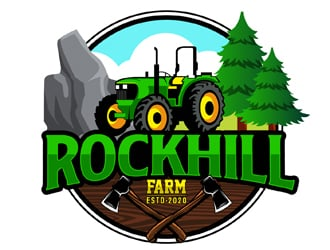 Rockhill Farm logo design