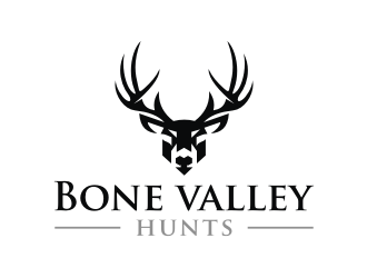 Bone valley hunts logo design