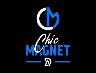 Chic Magnet  the logo will also have my Brand DA   I will attach the brand. logo design