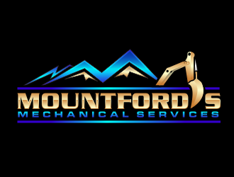 Mountford's Mechanical Services  logo design