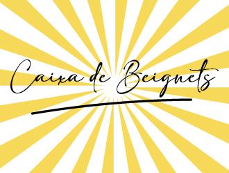Caixa de Beignets logo design by gateout