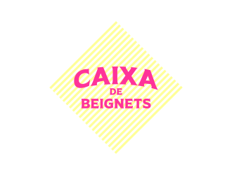 Caixa de Beignets logo design by ekitessar