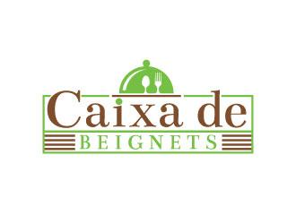 Caixa de Beignets logo design by Webphixo