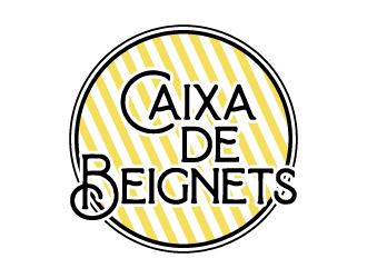 Caixa de Beignets logo design by jonggol