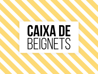 Caixa de Beignets logo design by daanDesign