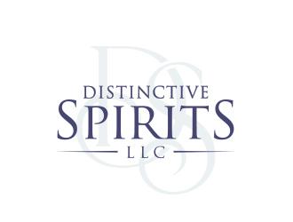 Distinctive Spirits LLC logo design