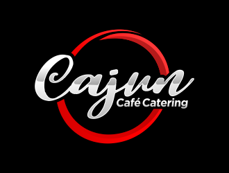 Cajun Café Catering logo design by M J