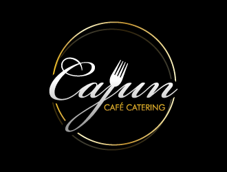 Cajun Café Catering logo design by pencilhand