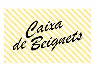 Caixa de Beignets logo design by GemahRipah