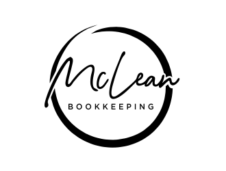 McLean Bookkeeping  - OR - McLean Bookkeeping & Consulting logo design