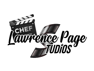 Chef Lawrence Page Studios Logo Design