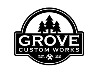 Grove Custom Works logo design