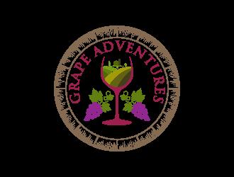 Grape Adventures logo design by nona