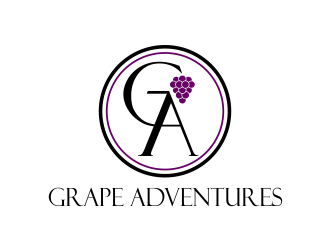 Grape Adventures logo design by Dhieko