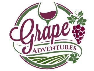 Grape Adventures logo design by jaize