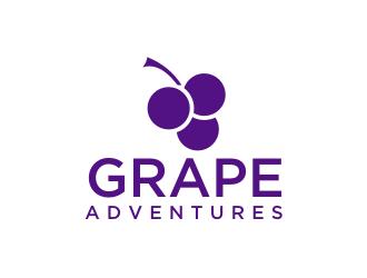 Grape Adventures logo design by christabel