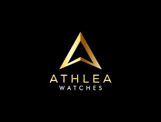 Athlea Watches logo design