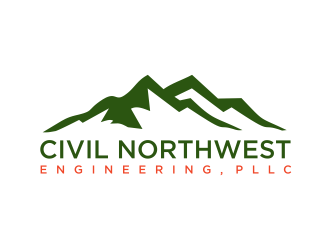 Civil Northwest Engineering, PLLC logo design