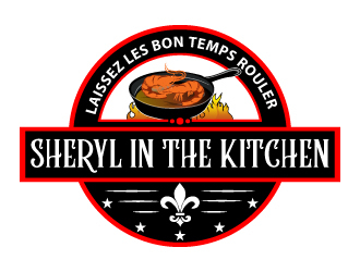 Sheryl In The Kitchen logo design