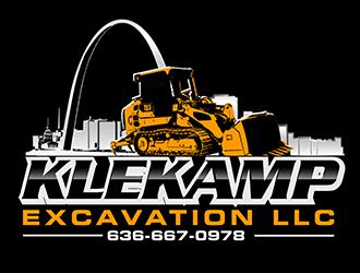 Klekamp Excavation LLC logo design