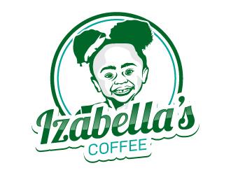 Izabellas Coffee logo design by uttam