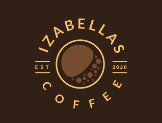 Izabellas Coffee logo design by czars
