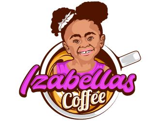 Izabellas Coffee logo design by Suvendu