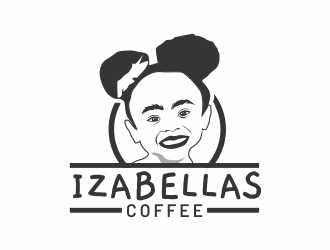 Izabellas Coffee logo design by amar_mboiss