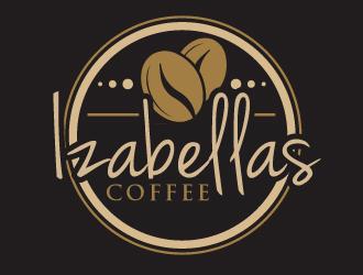 Izabellas Coffee logo design by ElonStark