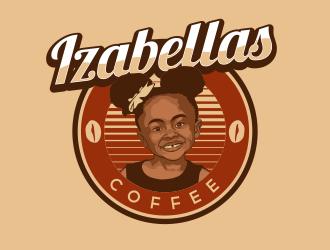 Izabellas Coffee logo design by habennagen