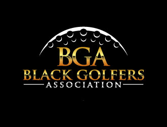 black golfers association (BGA) logo design by daywalker