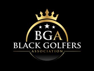 black golfers association (BGA) logo design by ubai popi
