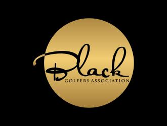 black golfers association (BGA) logo design by ozenkgraphic