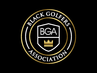 black golfers association (BGA) logo design by wongndeso