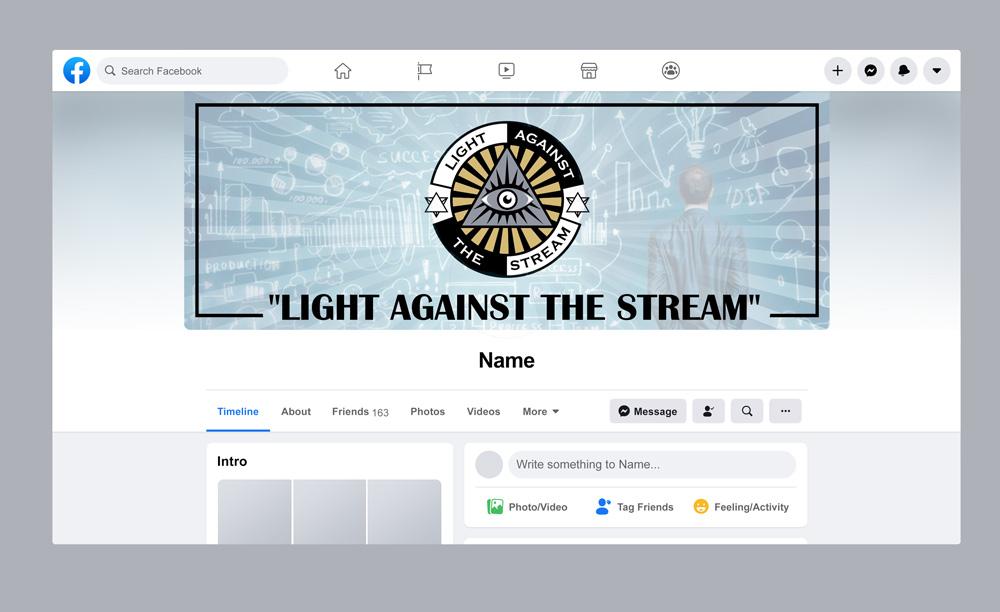 Against the Stream logo design by grea8design