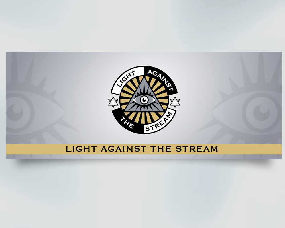 Against the Stream logo design by PANTONE