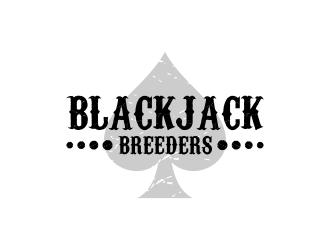 Blackjack Breeders logo design