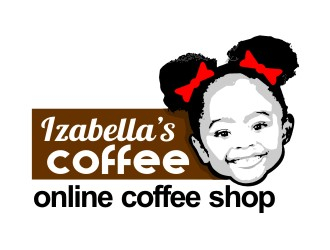 Izabellas Coffee logo design