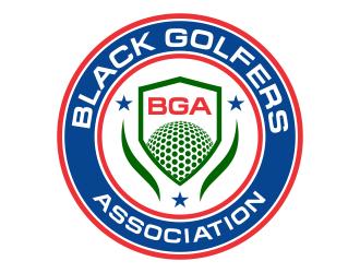 black golfers association (BGA) logo design by cikiyunn