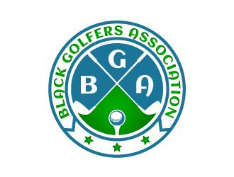 black golfers association (BGA) logo design by Putraja