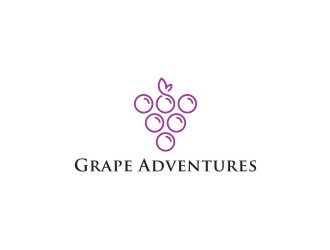 Grape Adventures logo design by bombers