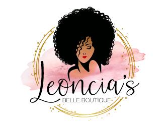 Leoncias Belle Boutique  logo design