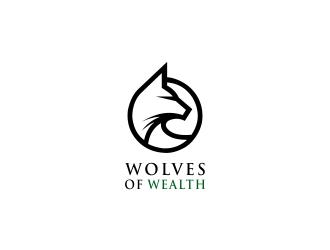 Wolves Of Wealth  logo design